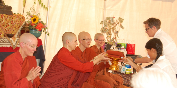 Aloka Vihara Forest Monastery 2016 Almsgiving Ceremony